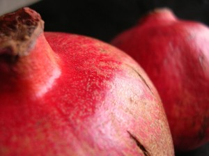 Pomegranates in Beauty Products