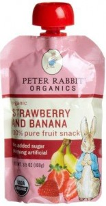 Peter Rabbit Organics, Organic Strawberry and Banana 100% Pure Fruit Snack – Antioxidant-fruits.com Review