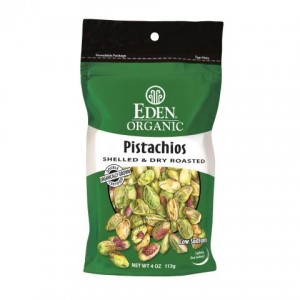 Eden Foods Organic Pistachios, Shelled and Dry Roasted Product Review