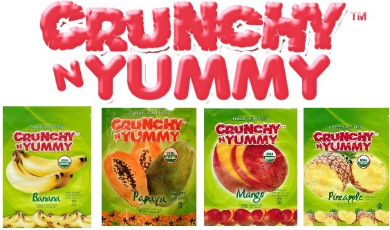 April 2013 Antioxidant-fruits.com Giveaway: Crunchy N Yummy™ Prize Pack