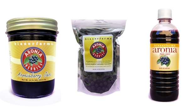 October 2013 Antioxidant-fruits.com Giveaway Aronia Berry Prize Pack from Blazerfarmz
