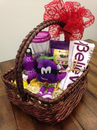 February 2014 Antioxidant-fruits.com Giveaway: Superberries Gift Basket