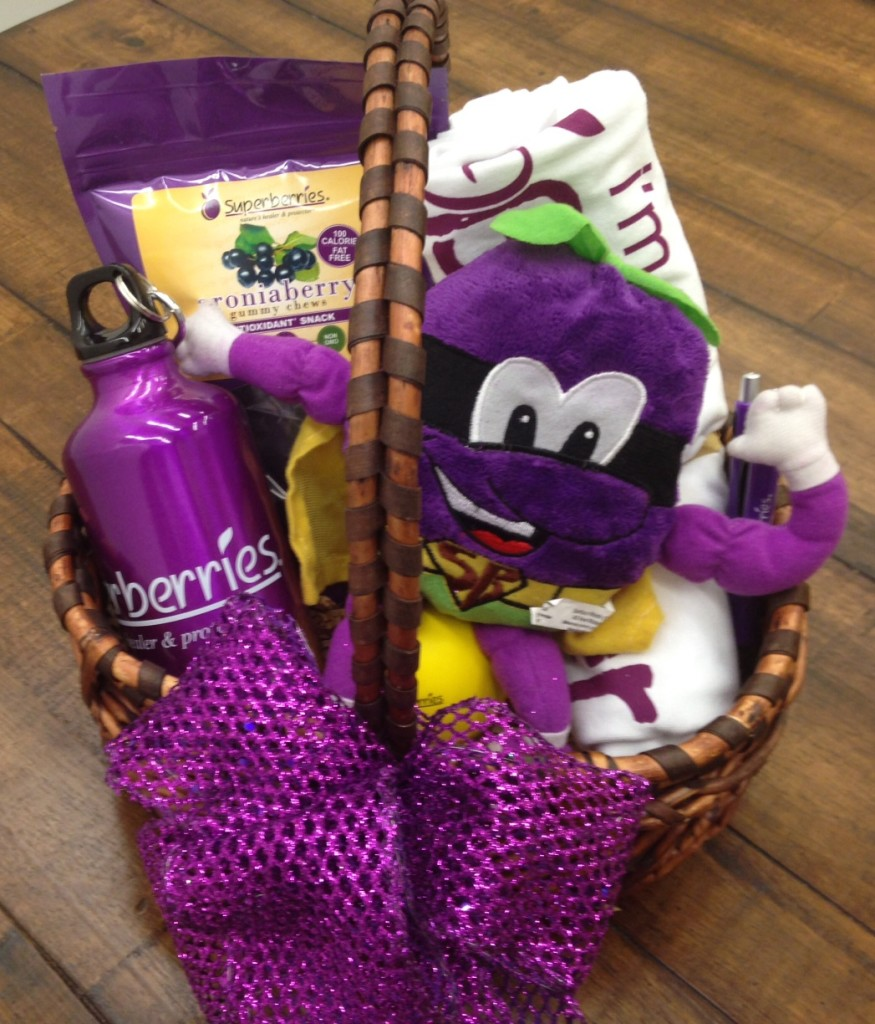 July 2014 Antioxidant-fruits.com Giveaway: Superberries Gift Basket
