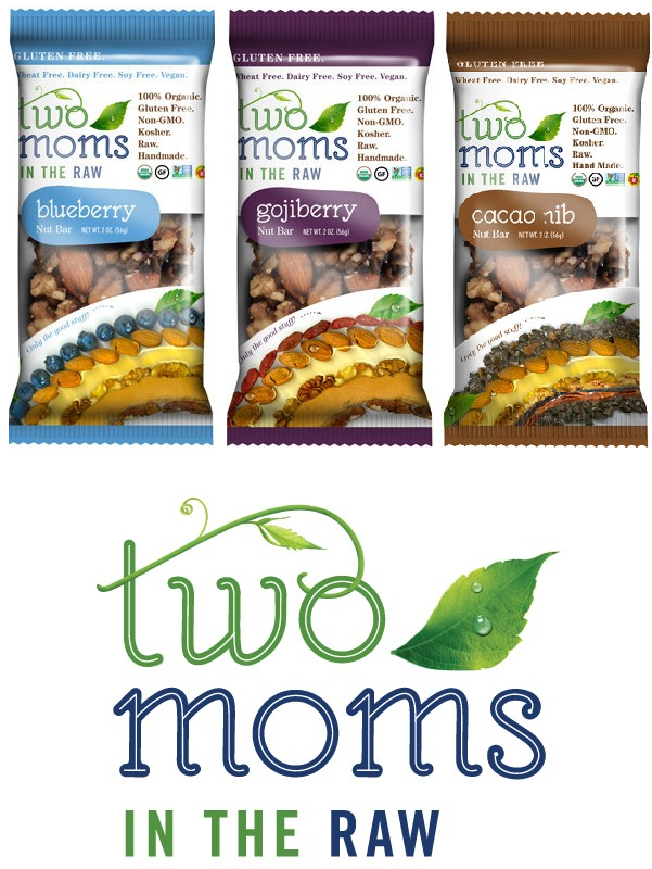BONUS Giveaway! Two Moms in the Raw Nut Bars