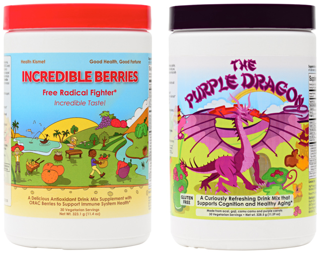 BONUS Giveaway! Health Kismet Incredible Berries + The Purple Dragon
